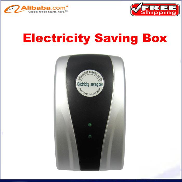 Hot SD001 Electricity Saving Box EU Plug Electric Saver Device Power Factor Saver Electronic Energy Power Saver For Home(China (Mainland))