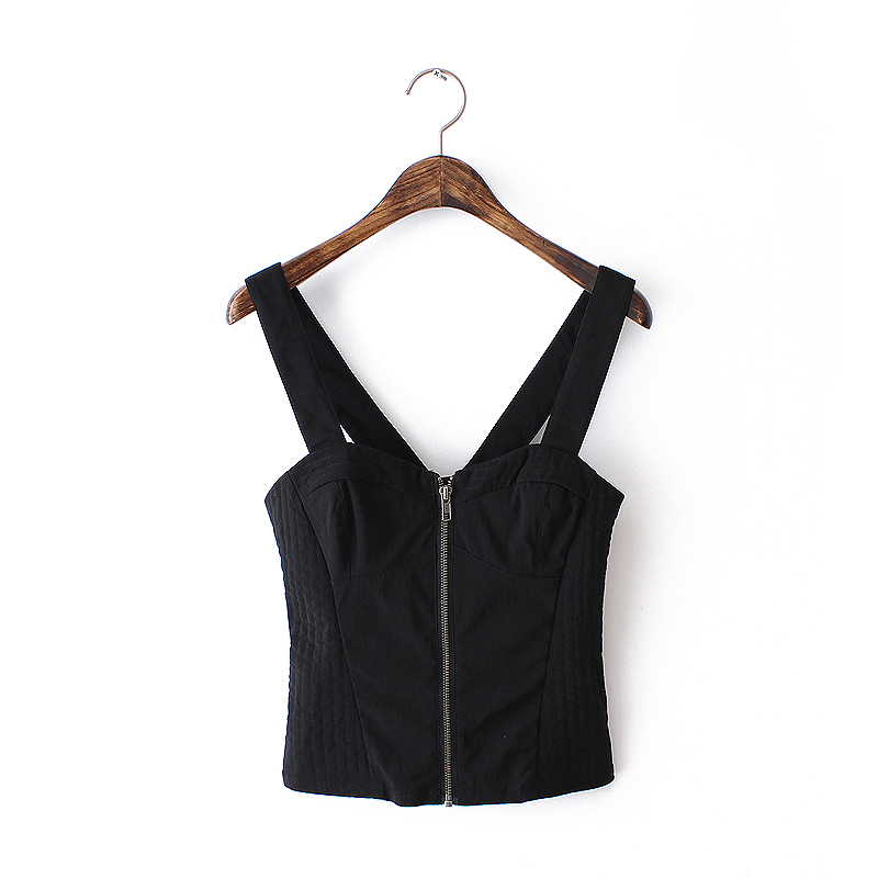 2015 Women's new fashion sexy tanktop cultivate one's morality condole belt vest(China (Mainland))
