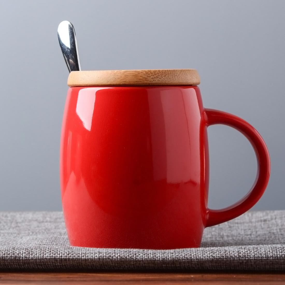 Compra grandes tazas de cer mica online al por mayor de for Capacidad taza cafe con leche