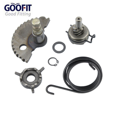 GOOFIT Kick Start Gear Kit Kits with Spring washer for gy6 50cc 60cc 80cc 139qmb Scooters Moped Roketa Taotao Jonway K070-047