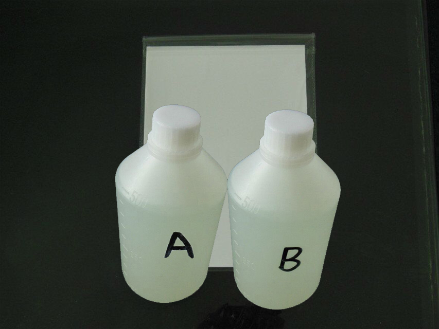 500ML Activator A and 500ML Activator B + 10 Pcs A4 size hydrographic film For Water Printing<br><br>Aliexpress