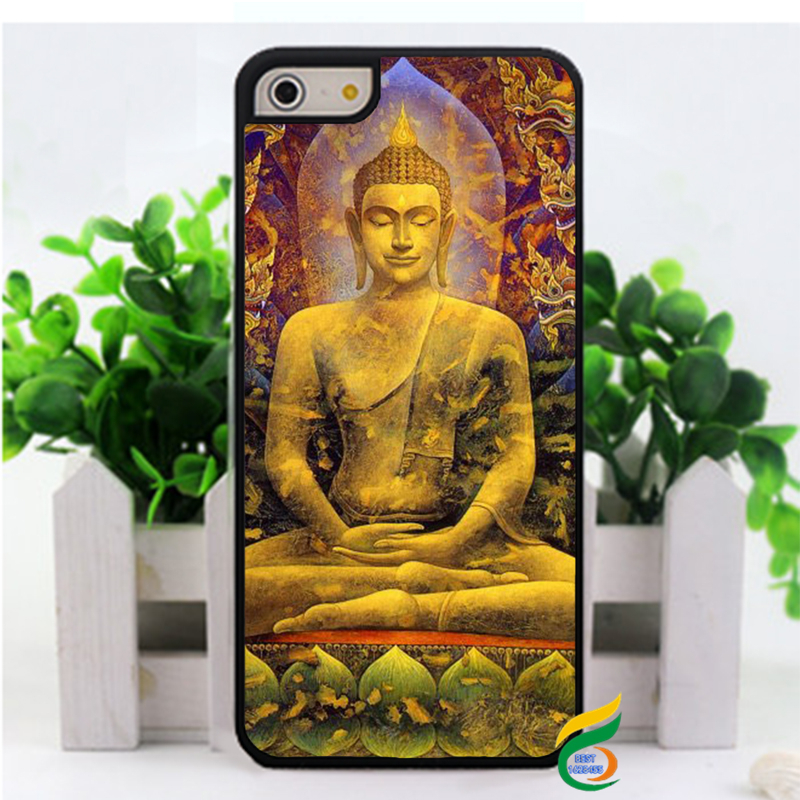 Buda Buddha fashion cell phone case cover for iphone 4 4s 5 5s 5c 6 & 6 plus(China (Mainland))