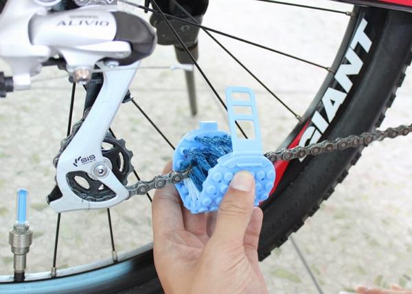 Банк как очистить цепь на велосипеде собрали