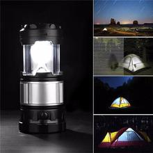 Portable Outdoor LED Lantern Solar Lamp Lights Hand Lamp Collapsible Solar Camping Lantern Tent Lights For Outdoor Hiking(China (Mainland))