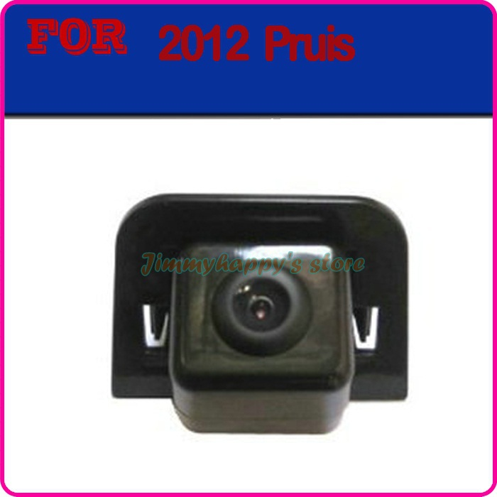 car rear view camera for SONY CCD Night color car reversing video system for toyota 2012 prius camera(China (Mainland))