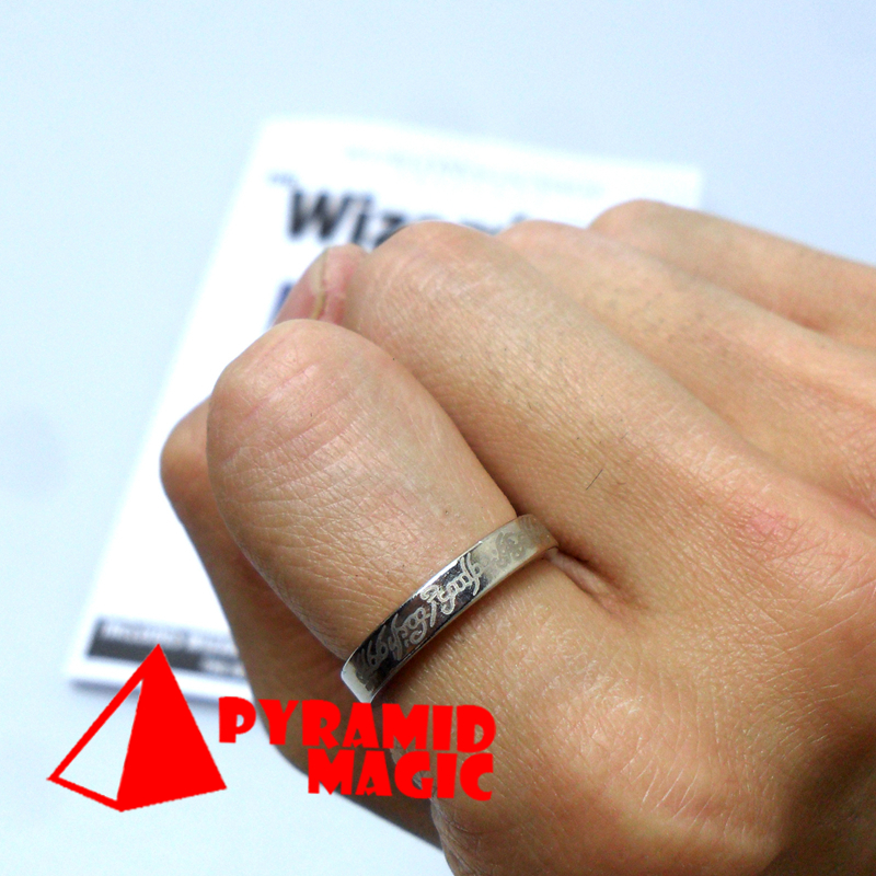 Wizard PK Ring thin with flower by World Magic Shop - close-up stage magic trick products / wholesale(China (Mainland))