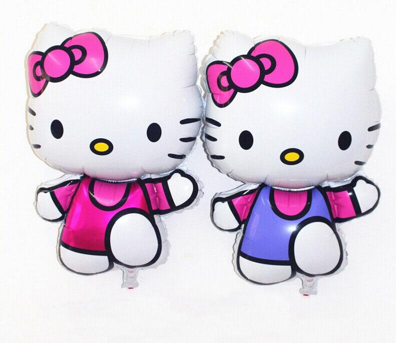 50pcs/lot 75*48cm Foil Balloon hello kitty balloon party decoration balloon free shipping<br><br>Aliexpress