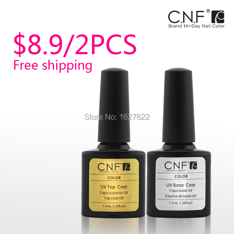 2015 NEW Mix color Top Coat + Primer Base CNF 79 colors Nail Gel UV Polish Builder Tips Glue - AVRORA'S LIBERTY store