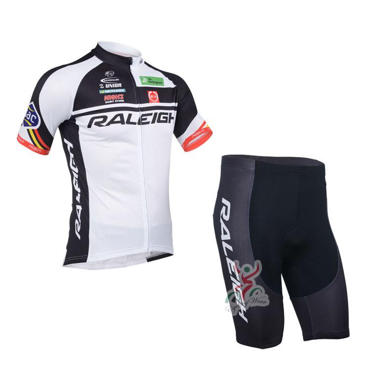 Factory Outlet 2013 raleigh shorts sleeve cycling apparel cycling jersey bike wear the shirt & bib & Shorts cycling clothing(China (Mainland))