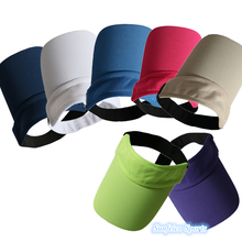 5000pcs/lot~Summer Baseball Leisure Hats Visor Casual Mesh Hat Caps~7 Colors~Sports Tennis Golf Headband Cap~DHL FREE SHIPPING(China (Mainland))