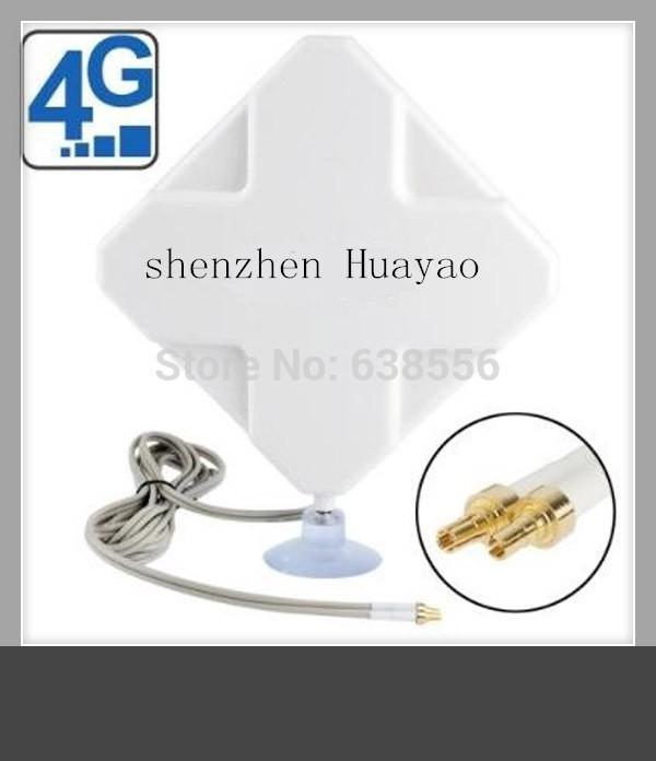 New model ZTE 4G 35dBi Signal Amplifier Antenna CRC9 Connector Broadband Modem Huawei E392 E398 E5776 E5372 E3276 E3272 E8278(China (Mainland))