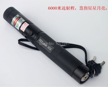 New! 2017 green laser pointer Flashlight 100000mw 100w 532nm high power Burning focusable can burn match,pop balloon+safe key