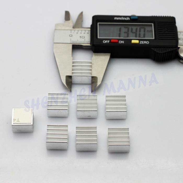 Aluminum Cooling Shim Pad Thermal CPU GPU VGA RAM Heat Sinks Spreader Memory Cooler For RAM 240 pcs/lot FREE SHIPPING(China (Mainland))
