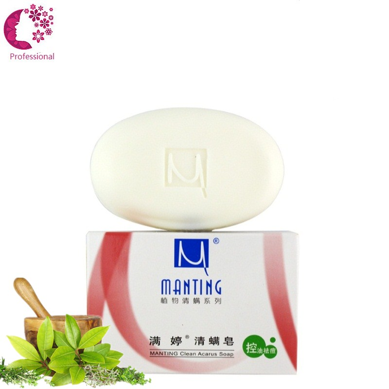 China Best 100% Pure Plant Essenct Soap Oil-control Anti-ance Malaysian Palm Oil Mild No Stimulate Face Body All Skin Can Use(China (Mainland))