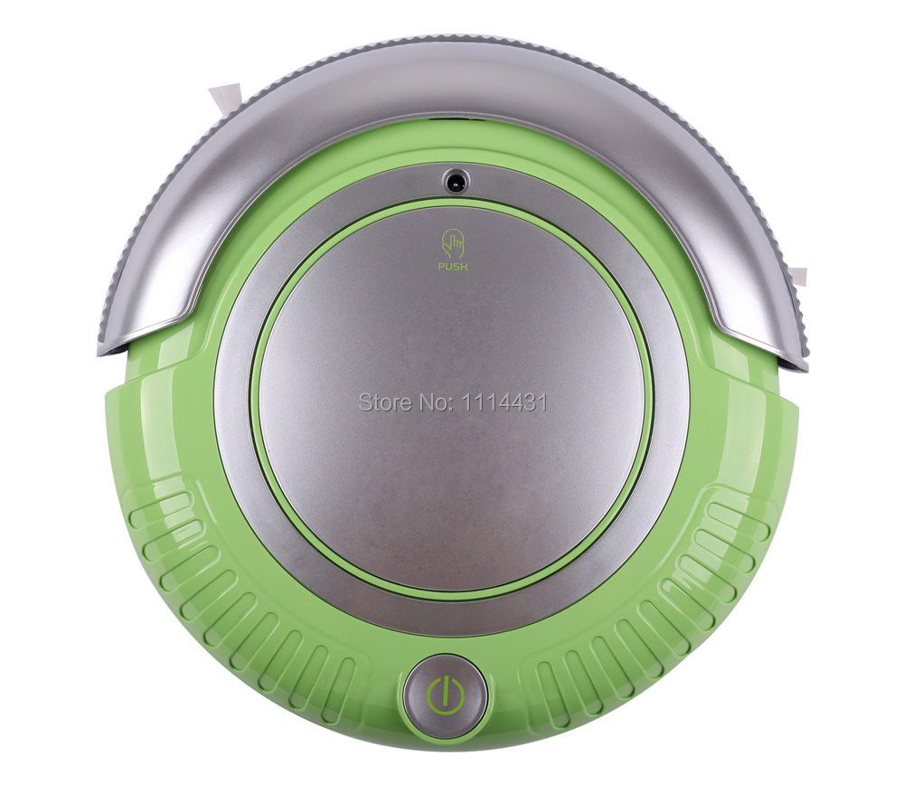 Free Shipping Mini Vacuum Cleaner Robot(Vacuum, Sweep, Mop),Removable 2 Side-brushes, Flashing LED Lights,3 Working Modes(China (Mainland))