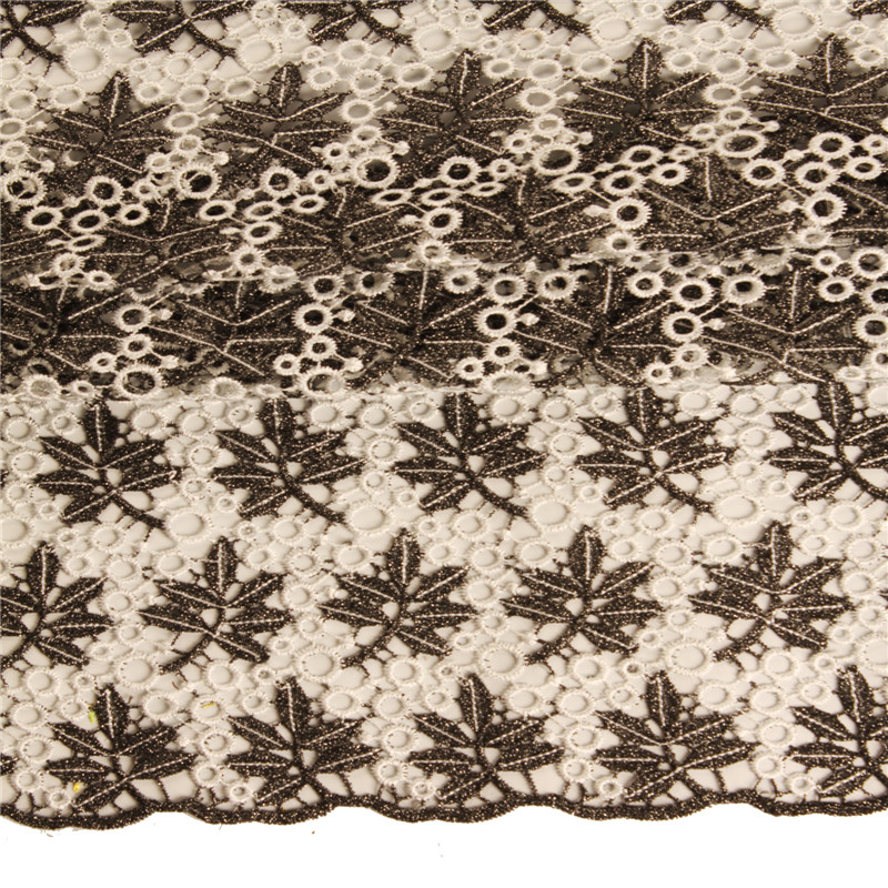 Free shipping! African french lace fabric high quality, Embroidery cord lace, african guipure lace fabric 2015 for wedding