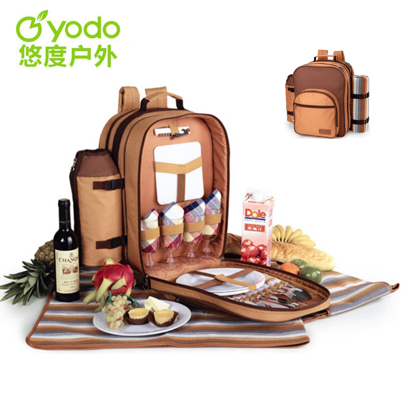 Yodo Double Shoulder Bag 22 Liters Of Picnic Bags Packed Outdoor Picnic Bag Equipment Picnic Set Picnic Basket<br><br>Aliexpress