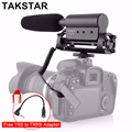 Takstar SGC 598 Photography Conference Shotgun MIC Video Microphone for Interview Lecture Movie Pickup for Nikon