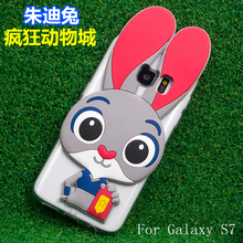 Soft TPU Cute Cartoon Animal Case Samsumg Galaxy S6 S7 Edge Plus ON5 ON7 J5 J7 A3 A5 A7 2016 A8 A9 iPhone 6S - Well Buy Trading (GZ store Co.,Ltd )