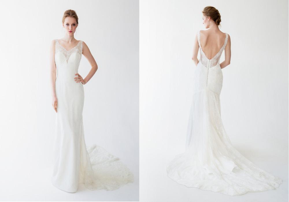 2015 new cheap kellyfaetanini elegant backless wedding for Backless wedding dresses vera wang