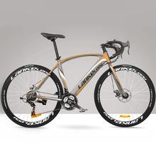 21/27 Speed, 700C, Cool, High-carbon Steel, Double Disc Brake, Road Bike, Racing Bike.(China (Mainland))