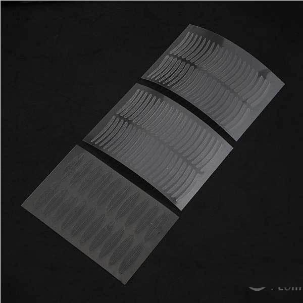 BidYard Cheap 100 Pairs Double Eyelid Technical Eye Tapes Makeup Stickers(China (Mainland))
