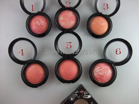 brand makeup hello kitty mineral powder blush for cheek(China (Mainland))