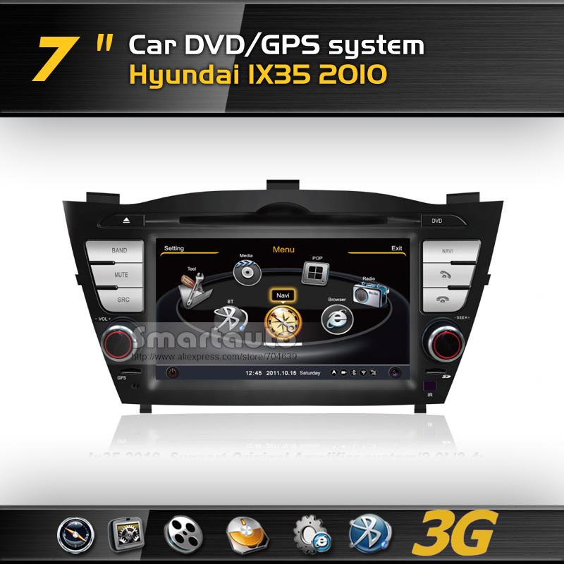 With Canbus Fast Speed A8 1GMHZ CPU,DDR2 512M,Virtual 20CD,4G memory,3G internet,Car DVD GPS for Hyundai IX35/Tucson (2009-2011)(China (Mainland))