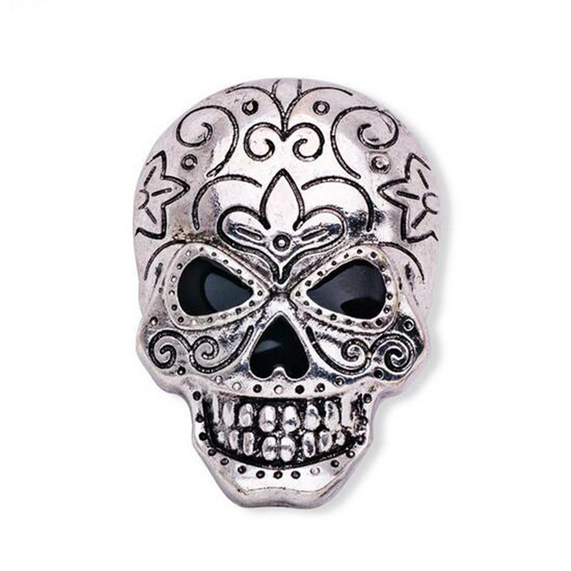 Cheap halloween brooch pin skull brooch vintage china factory direct lapel pin men lapel pins for suits male brooch cool pins(China (Mainland))