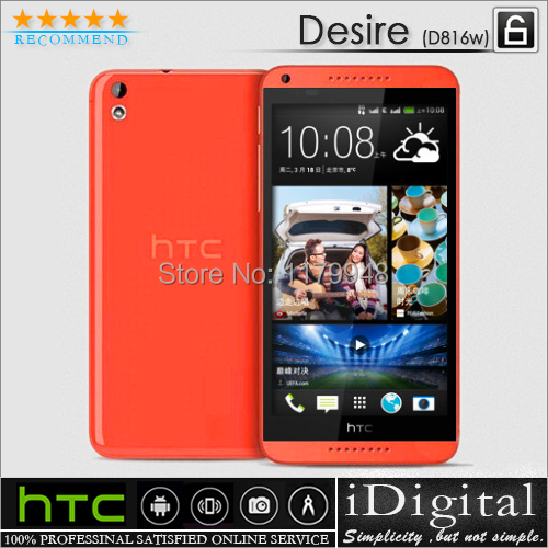"D816W Original HTC Desire 816 Dual SIM 8GB Quad Core 1.5G RAM 5.5"" 13.0MP Android OS 4.4 3G GPS WIFI Smartphone Refurbished(China (Mainland))"