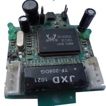 Oem Shenzhen Factory Pcb Board 2 Ports Ethernet Switch Module Header Port Shenzhen Network Switches Manufacturer(China (Mainland))