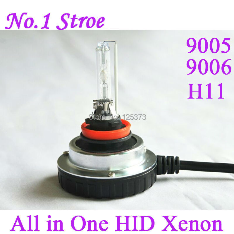 Car Light HID kit HB3 HB4 H11 Mini All in One AC HID Ballast XENON Lens 9005 xenon bulb 9006 xenon lamp headlight 4300K 6000K(China (Mainland))