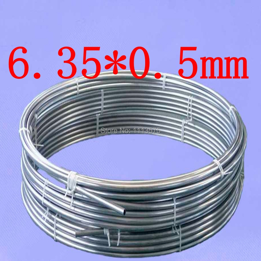 OD6.35mm,6.35*0.5mm,Stainless steel gas line pipe,stainless steel tube,stainless steel coil pipe(China (Mainland))