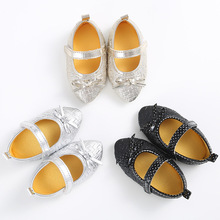 TongYouYuan PU Leather Newborn Baby Girl Princess Crib Bebe Soft Soled First Walkers Infant Toddler Anti-Slip Mary Janes Shoes(China (Mainland))