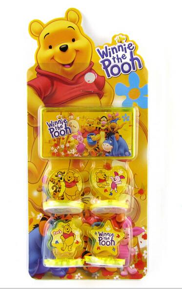 new 12 sets Wholesale Winnie Seal set toys children Christmas presents 4 design K7(China (Mainland))