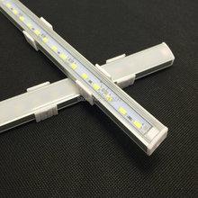5pcs/package 50CM 5730 rigid strip LED Bar Light Kitchen led light bar 36LEDs LED DC 12V LED Hard LED Strip with U falt cover(China (Mainland))