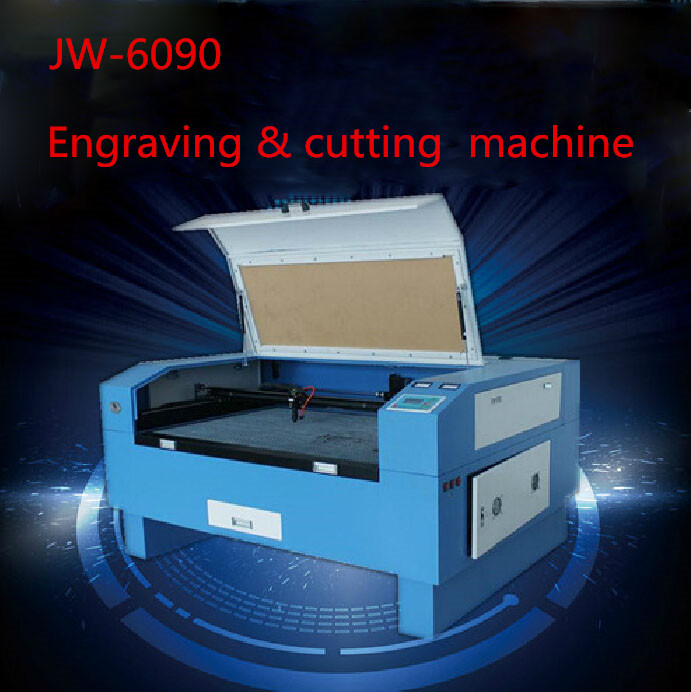 Version JW-6090 Laser Co2 130W out of CNC Laser Machine Laser Engraving Machine Cutting machine engraving speed 0-60000 mm/min(China (Mainland))