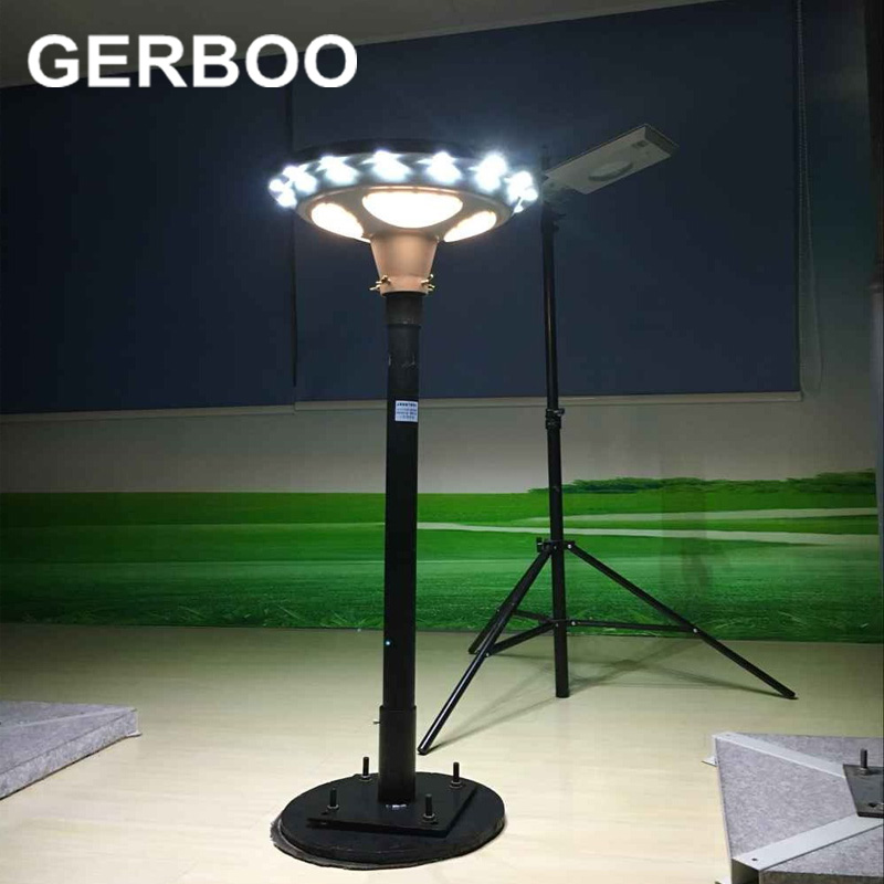 2016 NEW UFO 15W All in one Solar Street Light 1650lm Integrated Sensor Garden Solar Outdoor Lighting with 3 Years Warranty(China (Mainland))