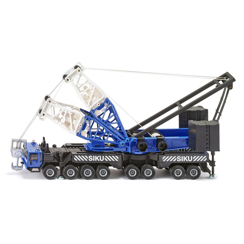 Siku 4810 heavy mobile crane 1:55 alloy metal model car toy child gift collection(China (Mainland))