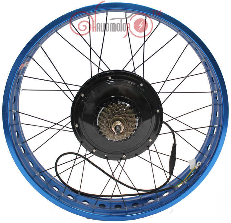 """Fat Tire Electric Motor Kit: 2015 26"""" 48v 1500w Fat Tire Electric Bicycle Rear Wheel"""