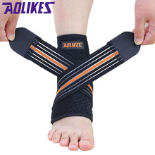 Sport breathable Ankle Brace Protector Adjustable Ankle Support Pad Protection Elastic Brace Guard Support Football Basketball(China (Mainland))
