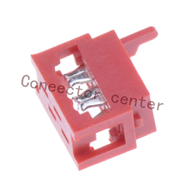 1.27mm Pitch Micro-Match Connector,4 Pin IDC Connector For 7-215083-4<br><br>Aliexpress