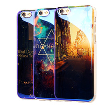 TPU Case for iPhone 6 6S 6Plus New Arrival Cover For Apple 7 7Plus IMD Flower Paris Blu-ray Soft Silicon Design Cell Phone Cases(China (Mainland))