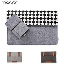 Mosiso Women Felt Laptop Sleeve Bag 13.3 15.6 inch Netbook Handbag Case for Apple MacBook Air Pro Retina 12 13 15 Acer HP Dell