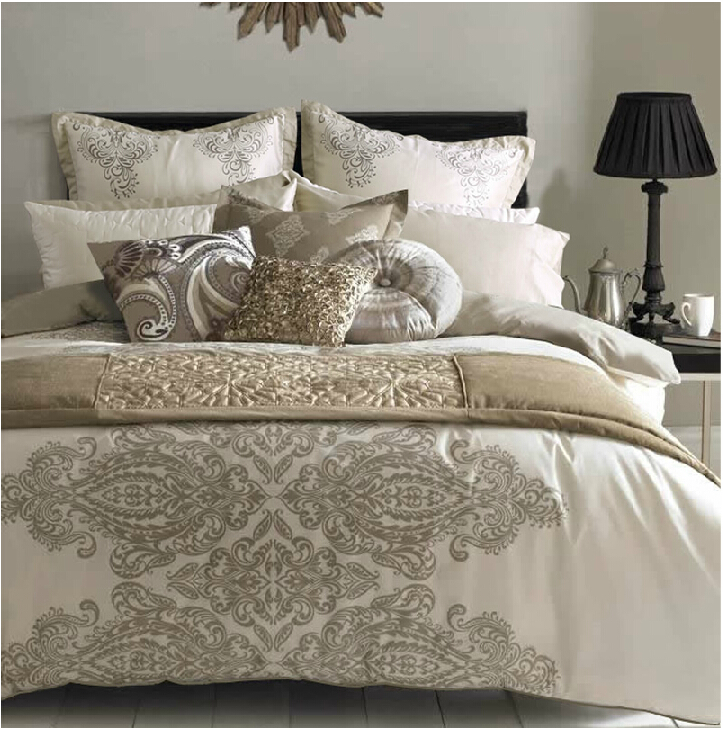 Popular cream duvet covers buy cheap cream duvet covers for Decorative bed covers
