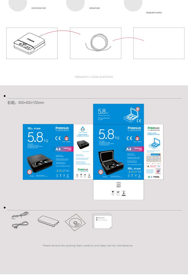Купить Свободный корабль передачи Тепла машина для Телефона случае принтер ST-2030 3D мобильный телефон для Тан Хуа тепловой Телефон Случае вакуумный машина