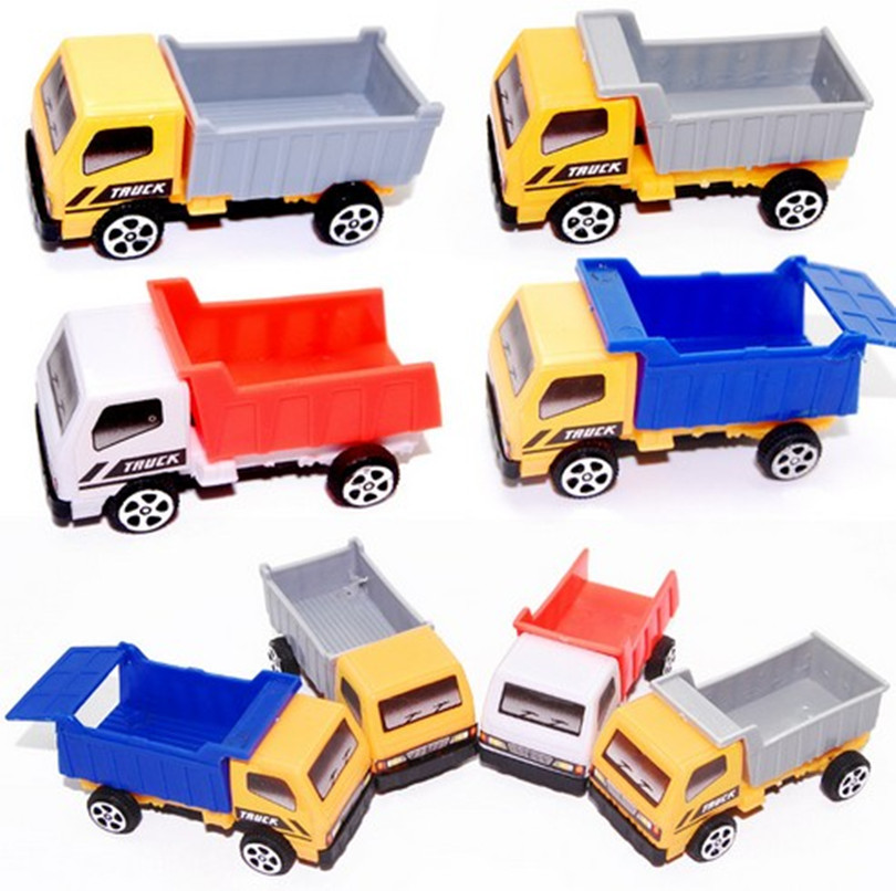 3pcs/lot Engineering vehicle autotruck for kids toys gift transport machine sliding car truck model children's educational toys(China (Mainland))