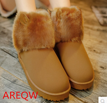Buy 2016 Winter New Arrival Balance Boots Warm Thea CL Shoes Girls Snow Ankle Boots Suede Plush Insole Botas Mujer b1 for $16.26 in AliExpress store