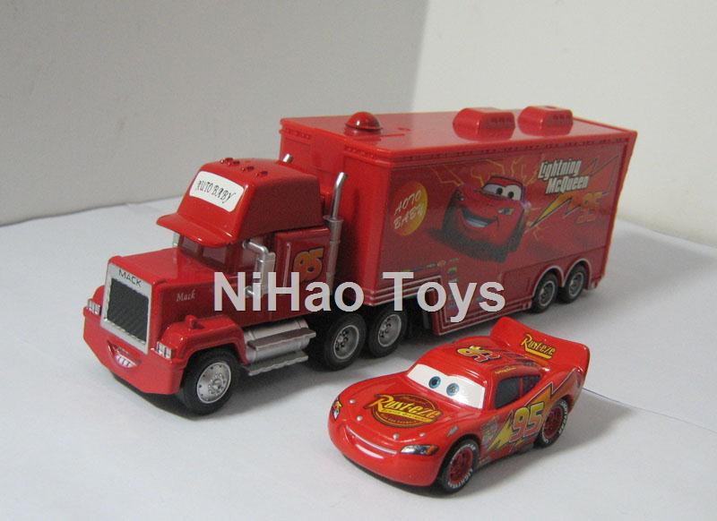 Pixar Cars - No.95 Race Car & MACK TRUCK No Brand Diecast Loose(China (Mainland))
