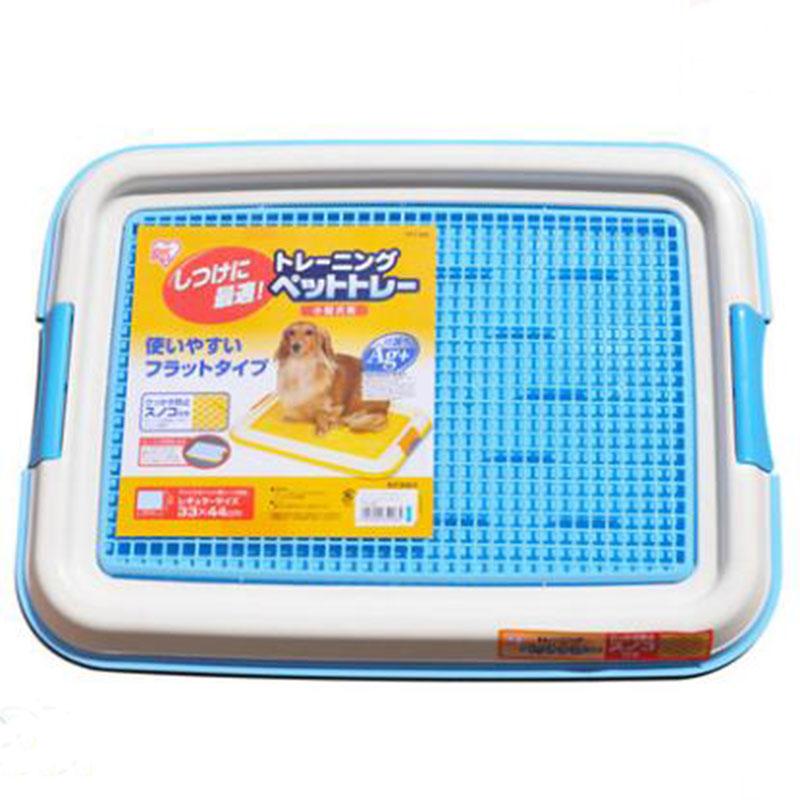 Pet Dog High quality Toilet Puppy Training Pad Dog Puppy Plastic Toilet Pet Environmental Protection Flat Dog Flat Panel 70885(China (Mainland))